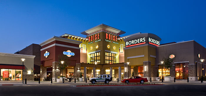 Shopping center in boise id by law kingdon architects by for Boise residential architects